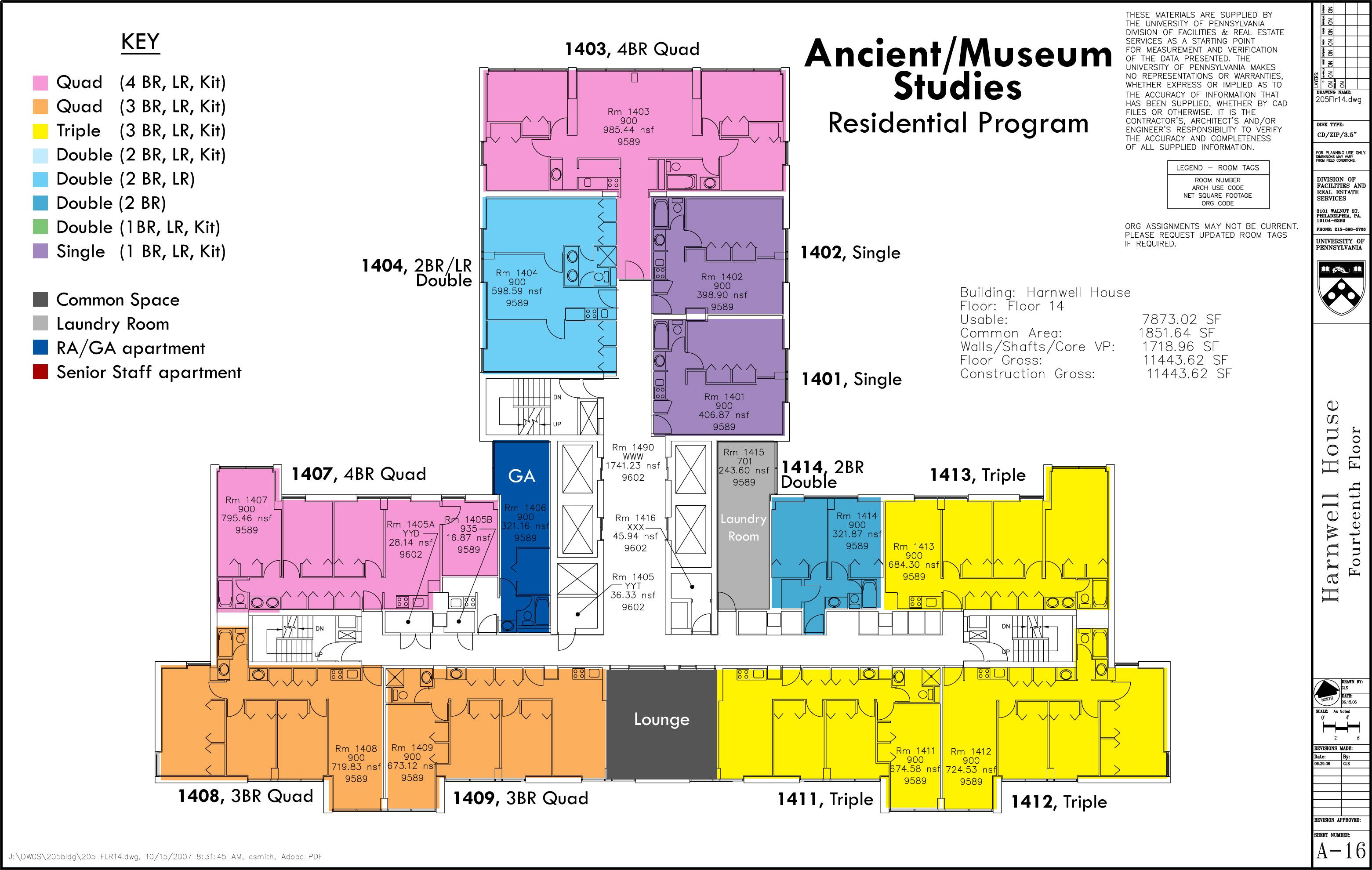 Floor Plans – Upenn Housing Floor Plans