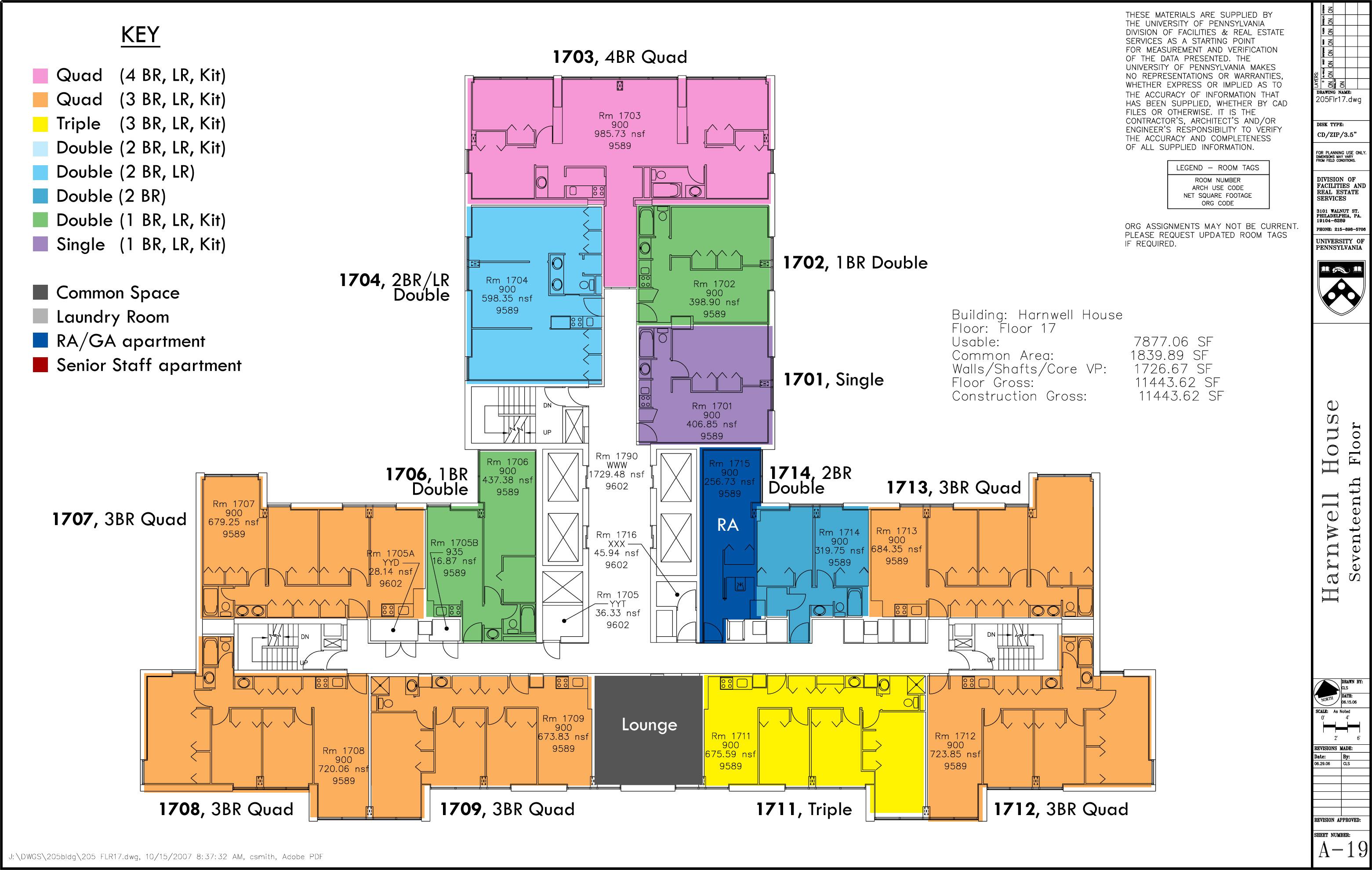 floor plans college houses academic services