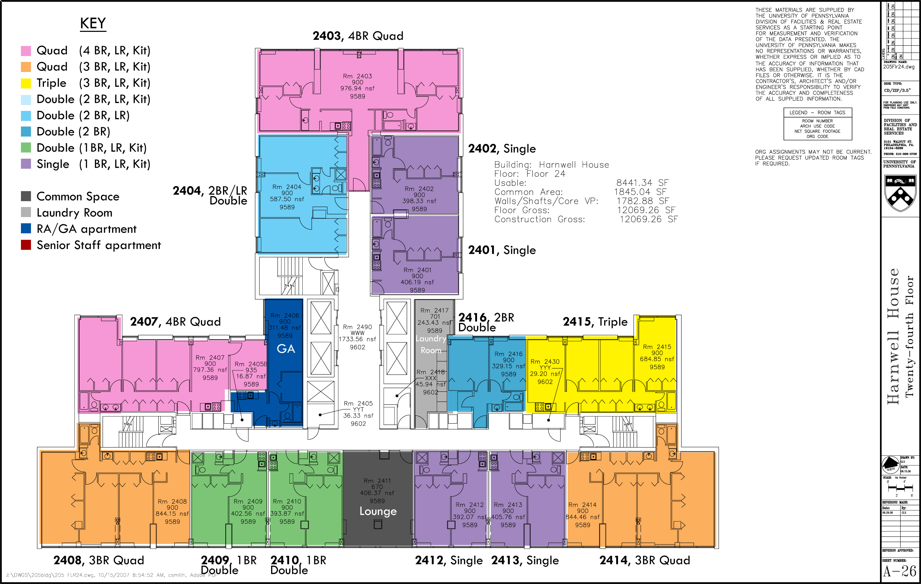 Floor Plans College Houses Amp Academic Services