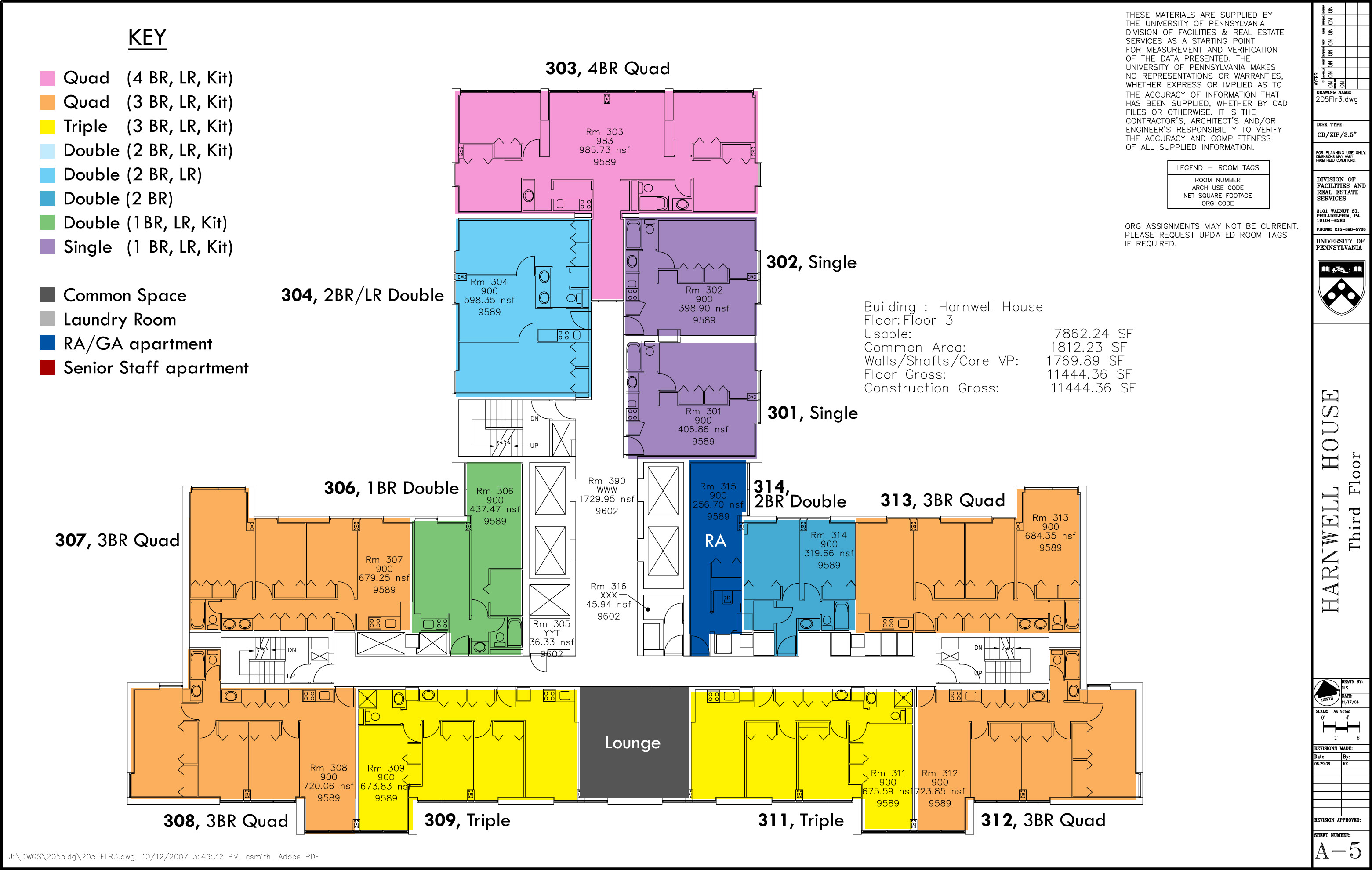 Floor Plans College Houses Academic Services