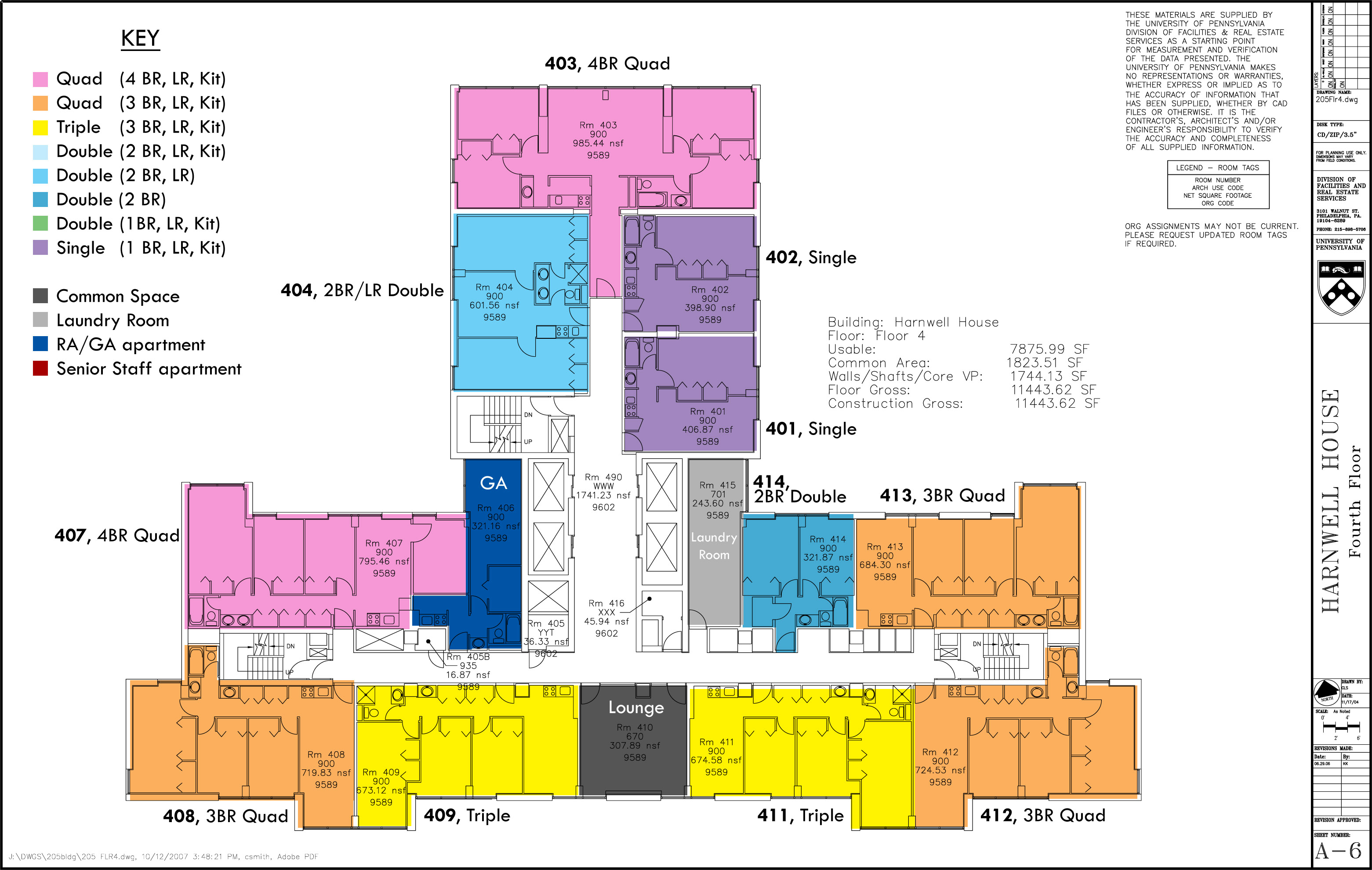Floor plans college houses academic services for Floor plan services