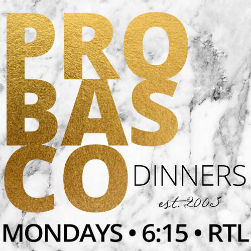 Probasco Dinner on Mondays at 6:15 PM in the RTL